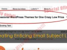 Create enticing subject lines
